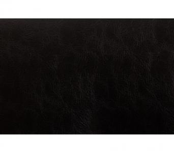 Диван Аккорд черная кожа