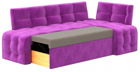 Кухонный диван Бристоль велюр